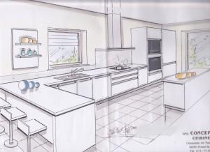 Un plan de cuisine