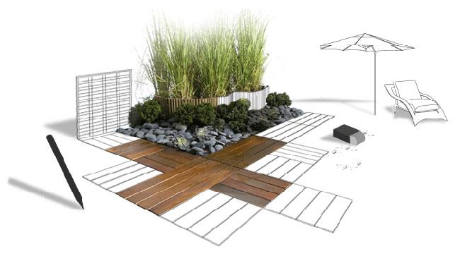Construire sa terrasse méthode, co u00fbts et explications # Plan De Terrasse En Bois